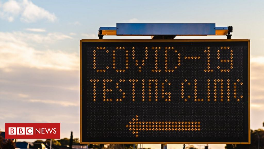 People with symptoms applying for drive-through tests have been directed more than 100 miles (161km) away.