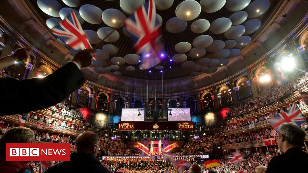 It saw a pared-down version of the BBC Symphony Orchestra play to an empty Royal Albert Hall, in order to comply with coronavirus restrictions.