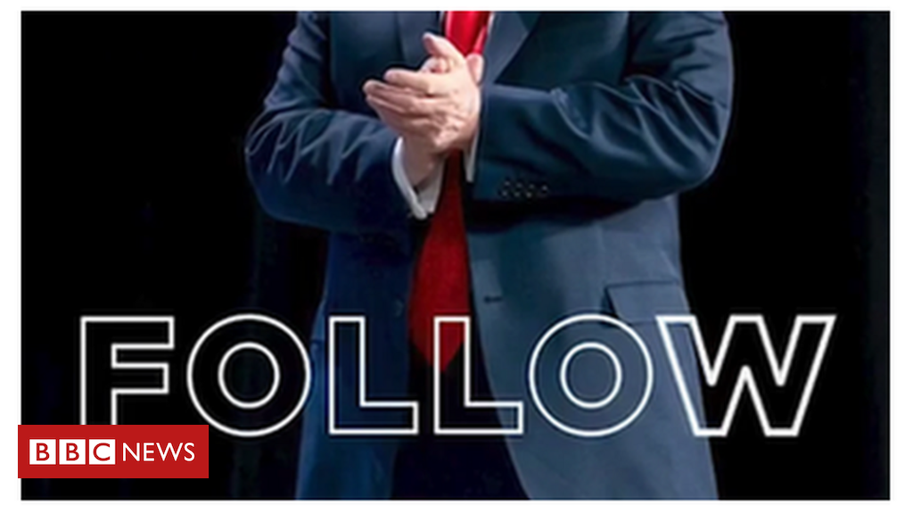 After two days on the social-media app, the US president has 11,000 followers.