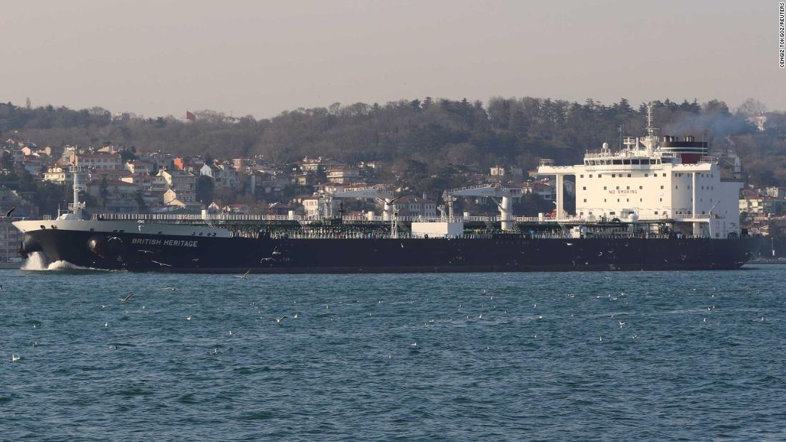The decision to raise the threat level to 3, or 'critical,' was made on Tuesday, according to UK media reports, one day before Iranian ships attempted to seize a British oil tanker in the Strait of Hormuz.